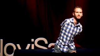 TED на русском: Ник Вуйчич. Как преодолеть отчаяние. Сила Воли. Самое мотивирующее видео!