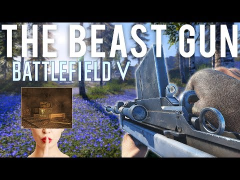 NEW Beast Gun, Firestorm Locations + Secret room - Battlefield V