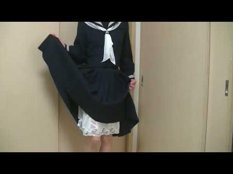 女装子さんが昭和の女学生の素晴らしさを伝えてくれます スカートフェチ専用アダルトサイト  スカートの奥から溢れる蜜