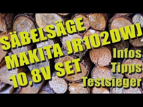 Säbelsäge Makita jr102dwj 10,8v set | Infos, Tipps und Testsieger | SaebelSaegen.net