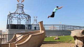Ronnie Free Runs Santa Monica