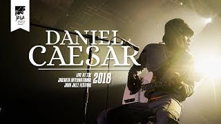 "Daniel Caesar ""Best Part"" Live At Java Jazz Festival 2018"