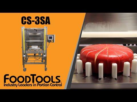 Cheese Wheel Cutting Machine - Cheese Slicer - CS-3SA FoodTools