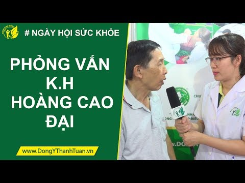 Phỏng vấn khách hàng Hoàng Cao Đại - Sp Thanh Chân Thống | [Ngày hội sức khỏe cộng đồng]