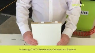 Milling process for panel assembly using the OVVO Connection System