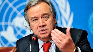 """""""Let us make 2017 a year for peace"""" - UN Secretary-General António Guterres"""