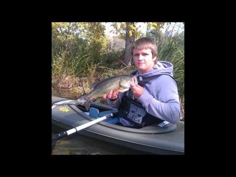 Kayak Fishing – Short Clip – Mill Pond