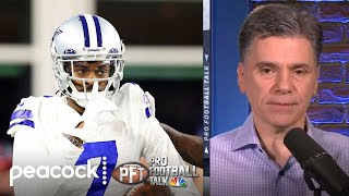 Is CB Trevon Diggs already the frontrunner for DPOY? | Pro Football Talk | NBC Sports