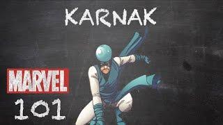 The Inhumans' Planner - Karnak