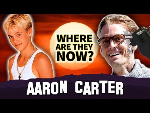 Aaron Carter | Where Are They Now? | Face Tattoo & Moved To Canada ?