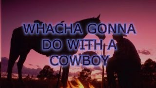 whacha gonna do with a cowboy