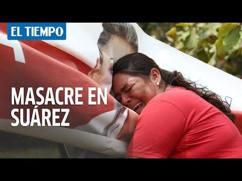 Asesinan a candidata a la alcaldía y 5 personas más en Suárez