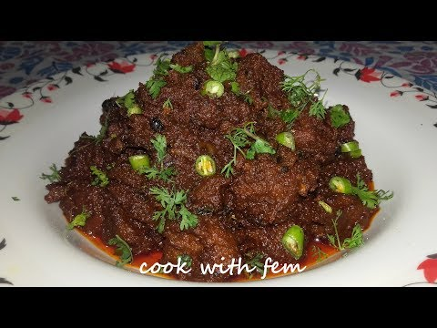 Bhuna Gosht || Dhaba Style Delicious Bhuna Gosht || Mutton Roast Recipe | Bhuna Mutton Recipe By Fem
