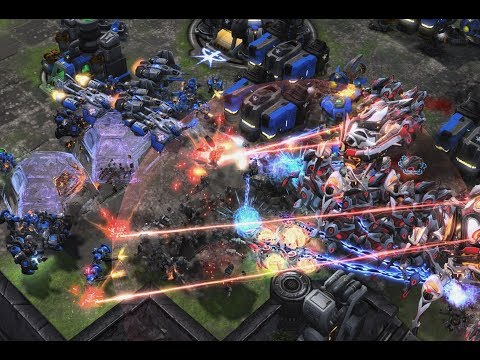 EPIC - Cure (T) v PartinG (P) on Ephemeron - StarCraft 2 - Legacy of the Void 2019