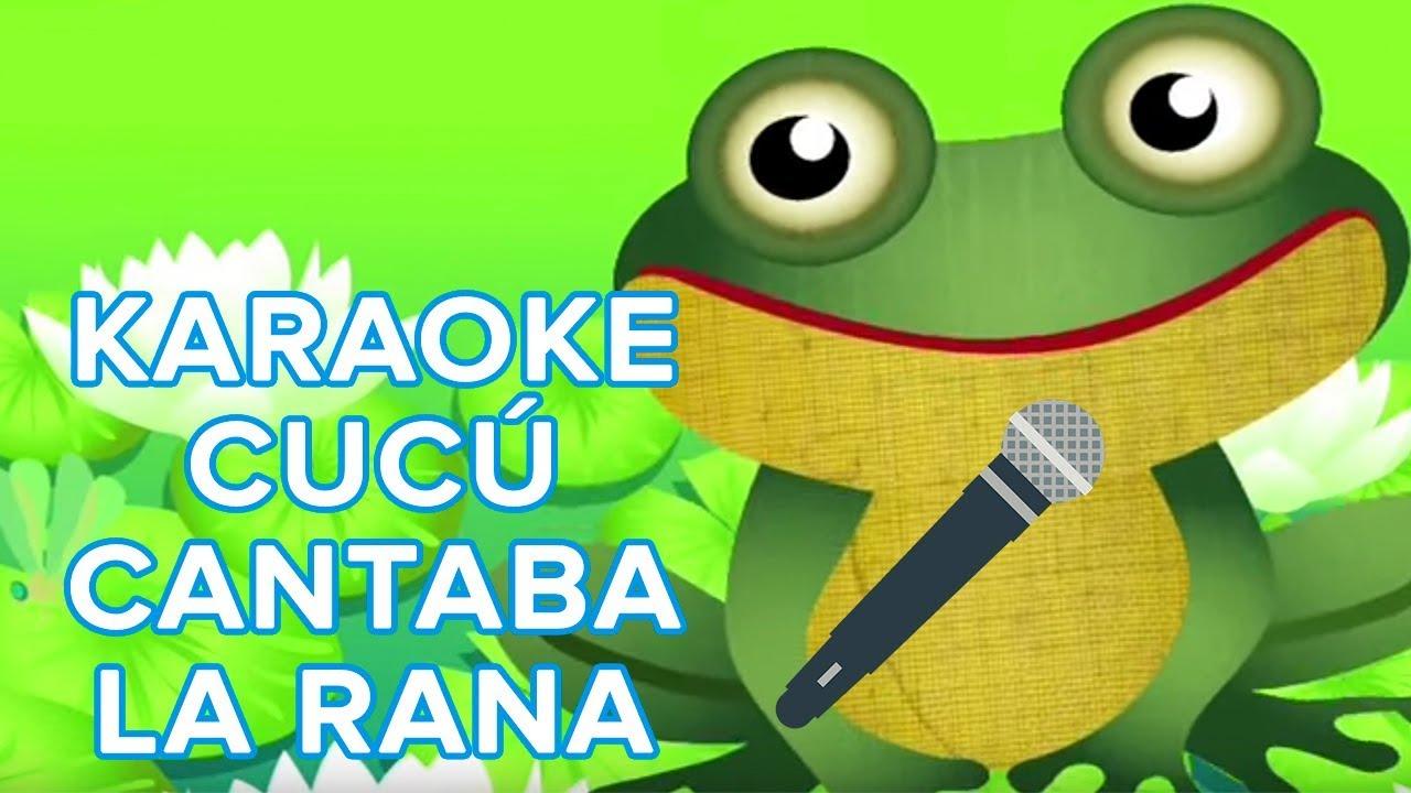 Cucú cantaba la rana. Karaoke del Oso traposo