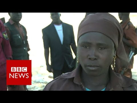 The woman standing up to Boko Haram - BBC News