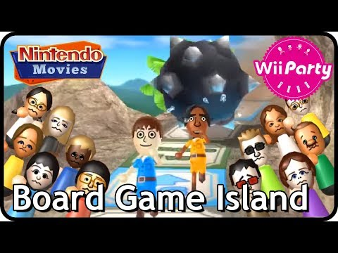 Wii Party - Board Game Island (2 Players, Master Difficulty)