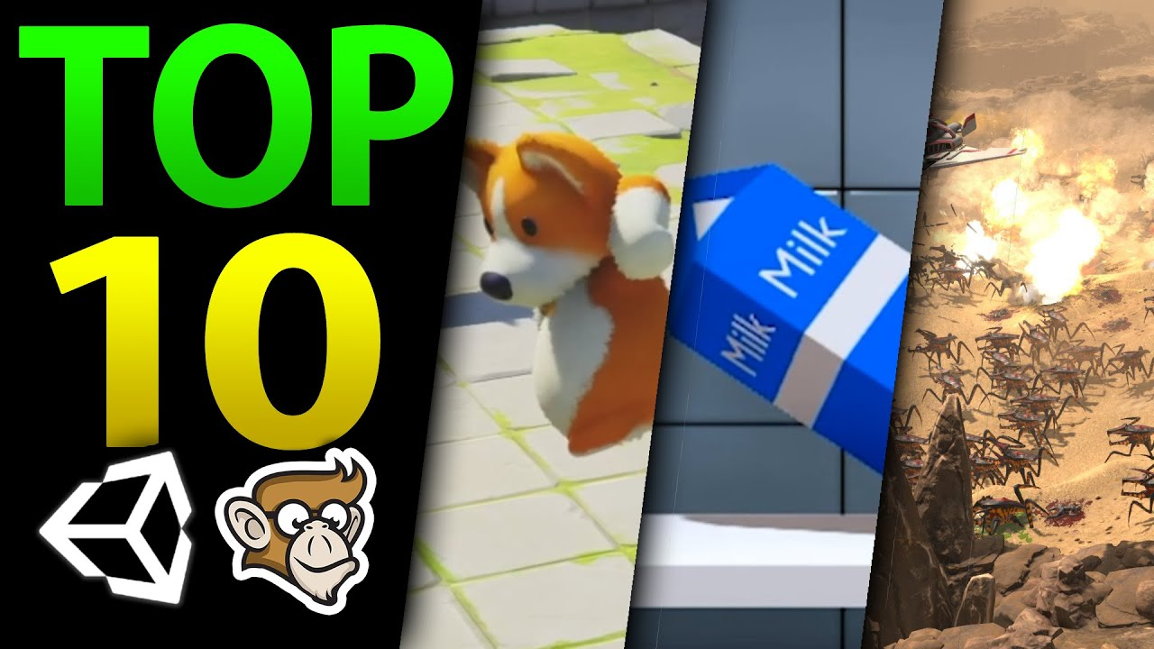 Top 10 Upcoming Unity Games in 2021!