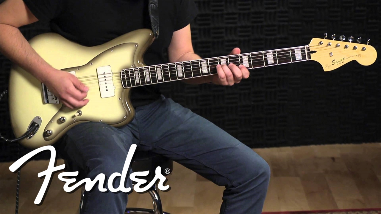 Incredible Vintage Modified Baritone Jazzmaster Squier Electric Guitars Wiring Database Ioscogelartorg