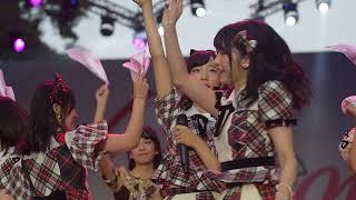 Hikoukigumo ( Jekak Awan Pesawat) - Kolaborasi JKT48 X AKB48 at JakJapan Matsuri 09.09.2018