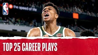 Giannis Antetokounmpo's Top 25 Career Plays!