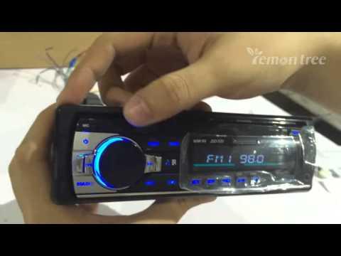 Bluetooth Car Radio MP3 Player