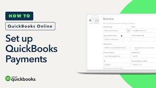 How to set up QuickBooks Payments
