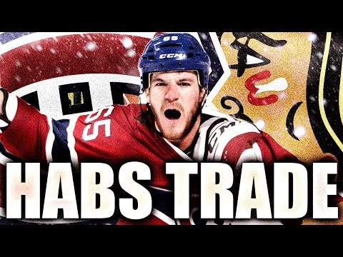 HABS TRADE W/ CHICAGO BLACKHAWKS - Montreal Canadiens Trade Andrew Shaw For Draft Picks (NHL Trade)