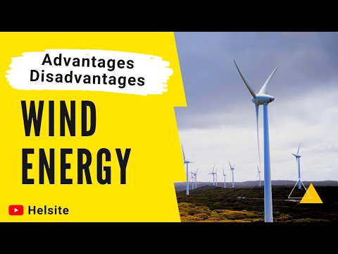 Advantages and disadvantages of Wind energy [ In Points ] 2020 | Merits and Demerits | Pros and Cons