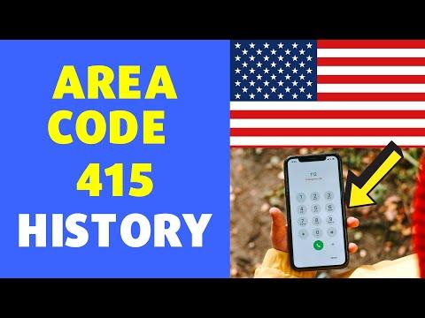 415 Area Code History | USA Location Area code 415 History