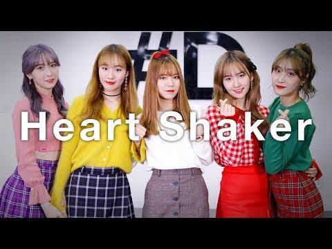 [ kpop ] TWICE (트와이스) - Heart Shaker (하트 셰이커) Dance Cover (#DPOP Mirror Fix Mode)