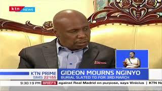 Senator Gideon Moi mourns veteran politician Lawrence Nginyo
