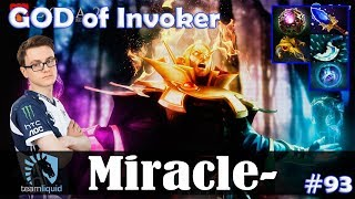 Miracle - GOD of Invoker MID | 7.17 Update Patch | Dota 2 Pro MMR Gameplay #93