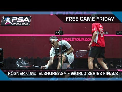 Squash: Free Game Friday - Rösner v Mo. ElShorbagy - PSA Dubai World Series Finals 2016/17