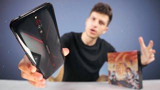أغرب موبايل جربته في حياتي - RED MAGIC 5G !