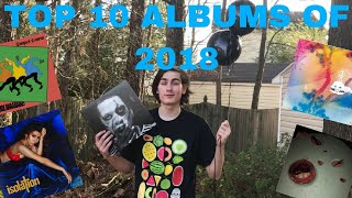 TOP 10 ALBUMS OF 2018