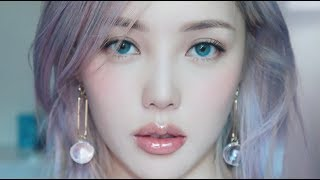 💧Clear Glassy Makeup💧(With subs) 투명한 유리알 메이크업