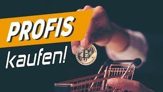 Bitcoin: Die Profis kaufen jetzt!