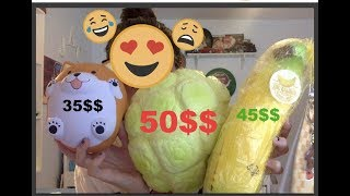 TOP 10 MOST EXPENSIVE SQUISHIES | collab with Sophia v Squishies and Kawaiixsquish