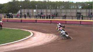 preview picture of video '2014 FIM Speedway - Under 21 World Championship - QF3, Leicester'