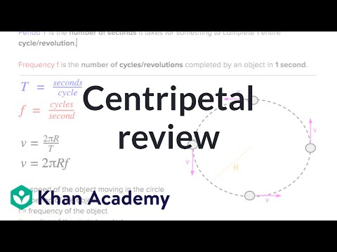 AP Physics 1 review of Centripetal Forces (video) | Khan Academy