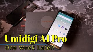 Umidigi A1 Pro: One week later - Watch before you buy!