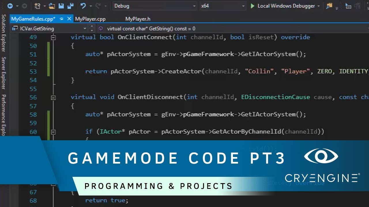 How to create a player and gamemode in code [Part 3] | Programming & Projects