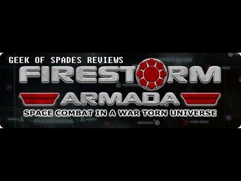 Geek of Spades Review: Firestorm Armada 2nd Edition