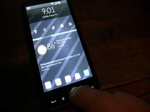 0 Android 2.2 Froyo ist bereit fürs HTC HD2 Handys HTC HTC HD2 Smartphones Software Technology