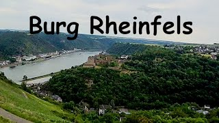 #FPV flight at Burg Rheinfels, Sankt Goar, Germany