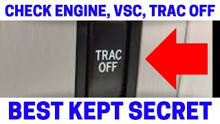 (Part 6) How To Fix Check Engine, VSC, Trac Off Warning Lights On