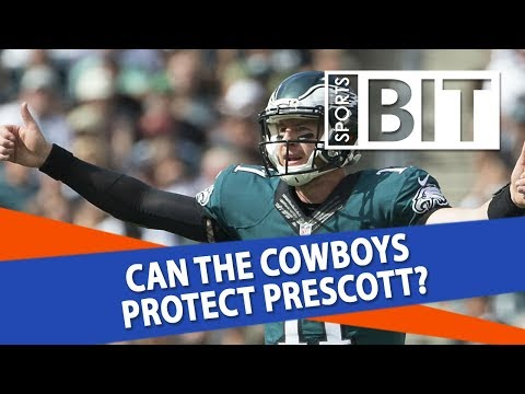 Philadelphia Eagles at Dallas Cowboys | Sports BIT | NFL Picks