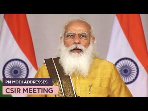PM Modi addresses CSIR meeting
