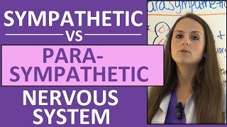 Sympathetic and Parasympathetic Nervous System (Autonomic) Anatomy, Pharmacology Nursing